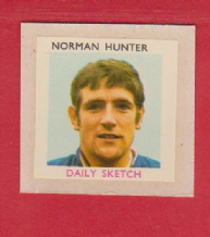 England Norman Hunter Leeds United (DS)